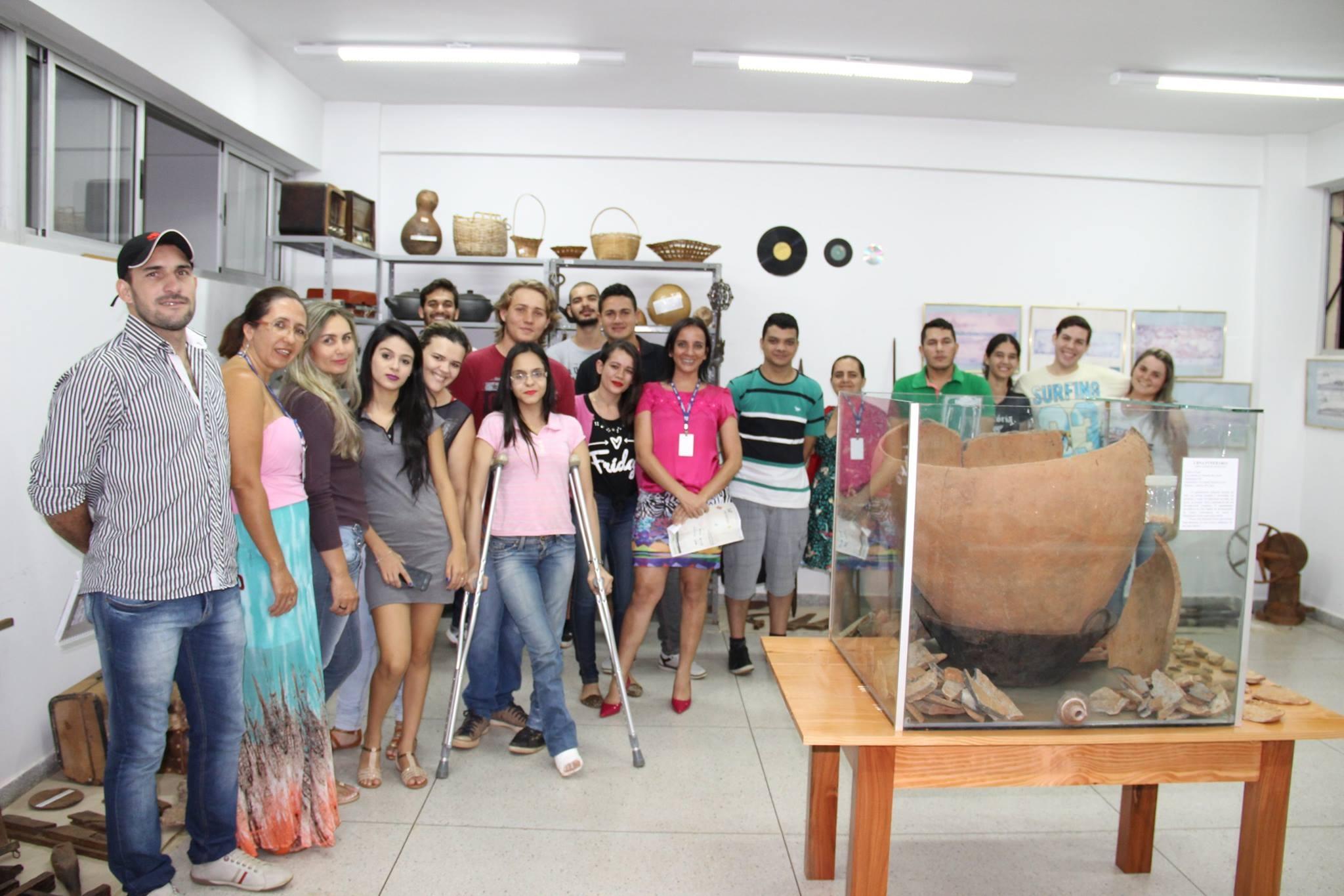 Equipe do Museu de História - Campus Itapuranga