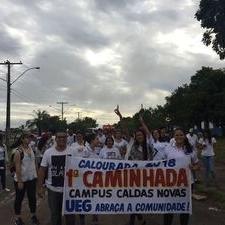 I Caminhada UEG Abraça a Comunidade