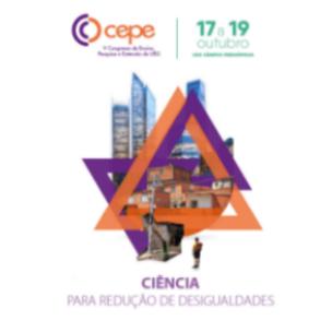 Alunos e professores do Câmpus Cora Coralina no V CEPE - apresentação de trabalhos