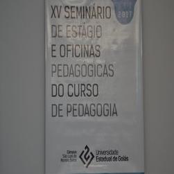 XV SEMINÁRIO DE ESTÁGIO E OFICINAS PEDAGÓGICAS DO CURSO DE PEDAGOGIA