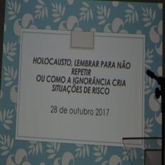 PALESTRA HOLOCAUSTO