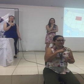 programa de imersão da língua inglesa ministrada aos alunos da Medicina Veterinária