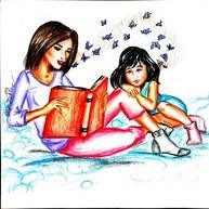 Desenhos do I CONCURSO CULTURAL DE DESENHO E LITERATURA DA BIBLIOTECA