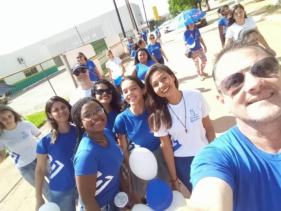 Alunos de Pedagogia arrecadam doações em Santo Antônio do Descoberto - 25/11/2017