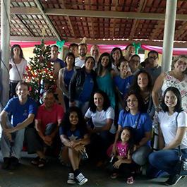 Comunidade acadêmica do Polo de Ensino Superior de Santo Antônio do Descoberto realiza ação beneficente