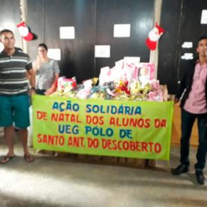 Ação solidária de Sto Antônio do Descoberto