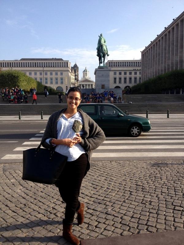Carina Sousa, aluna de Arquitetura e Urbanismo
