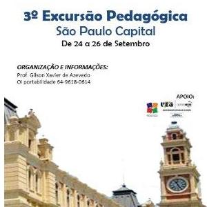 3ª EXCURSÃO PEDAGOGICA