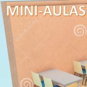 ACADÊMICOS DO 3º ANO 2015 REALIZAM MINI-AULAS A PARTIR DE MATERIAL DIDÁTICO