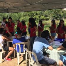 PET Fisioterapia realiza ação no Parque Vaca Brava