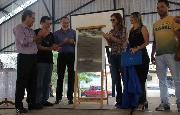 Inauguração da Quadra Poliesportiva do Câmpus Porangatu