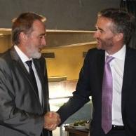 Almo�o com Embaixador do Reino Unido