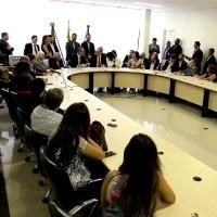 Audi�ncia P�blica com Ministro de Ci�ncia e Tecnologia,  Aldo Rebelo