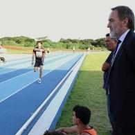 Inaugura��o de Pista de Atletismo na UFG
