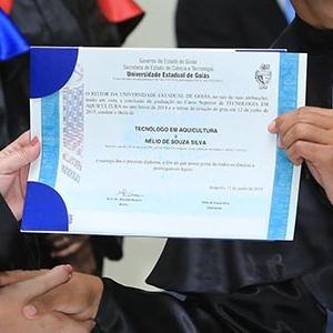 Cola��o de grau unificada da UEG c�mpus S�o Miguel do Araguaia