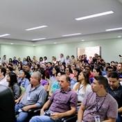 Servidores da Administração Central recebem boas-vindas do reitor
