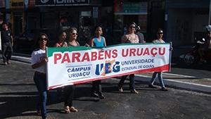 CAMINHADA ECOLÓGICA - Aniversário de 85 anos de Uruaçu