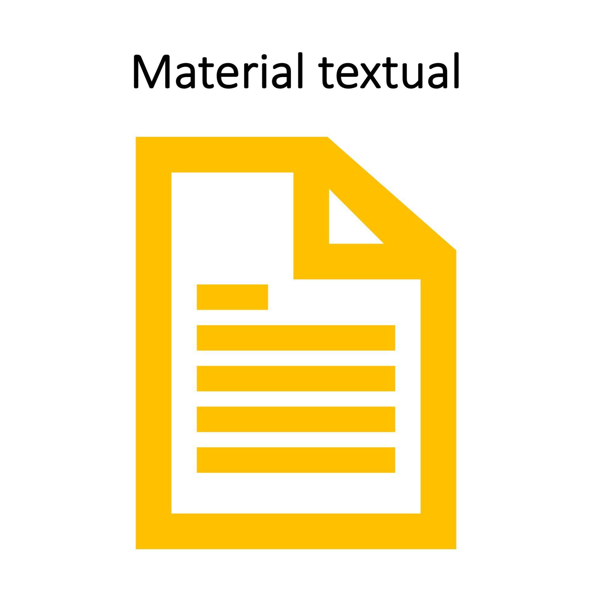 Material textual